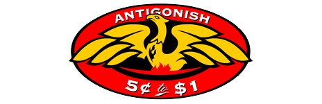 Antigonish 5¢ to $
