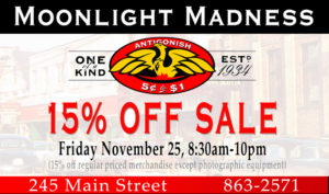 Antigonish 5¢ to $1 - Moonlight Madness