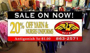 Antigonish 5 to 1 - Yarn & Nurses Sale