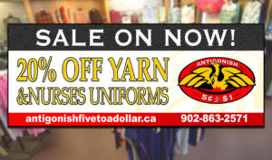 Yarn & Nurses Uniform sale - Jan 2018