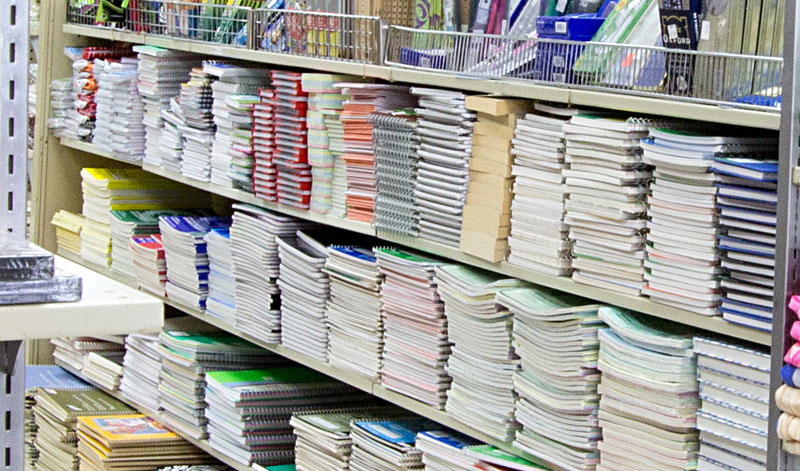 Greeting Cards, Stationary and School Supplies